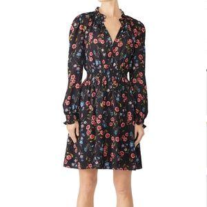 kate spade Meadow Smock Waist Dress size L nwot